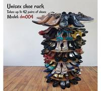 Unisex shoe rack for 42 pairs of shoes
