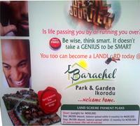 flyer of barachel estate