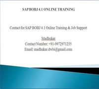 Sap Business Objects Training - Online Classes by SAP BO Experts