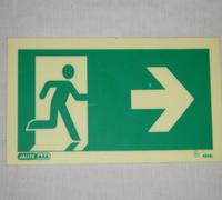 Life safety signs