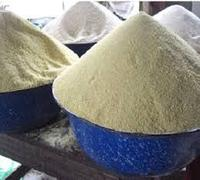 Samples of ready made Garri for sale