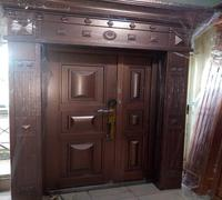 copper solid door
