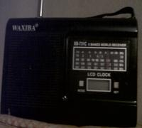 Brand new Transistor Radio with LCD lock