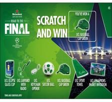 promo cards, scratch and win card , online registration card