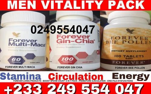 forever-living-products-forever multi maca-forever gin chia-forever bee pollen-stamina-low libido-enlargement-prostate