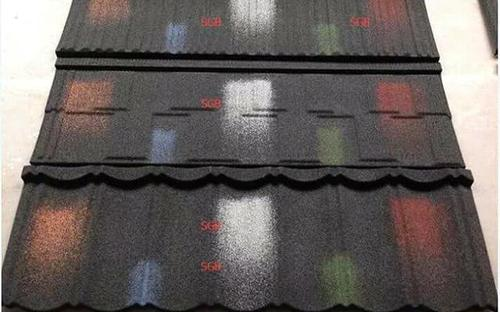 Master of quality stone coated roofing sheet