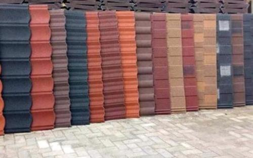 Love quality stone coated roofing sheet