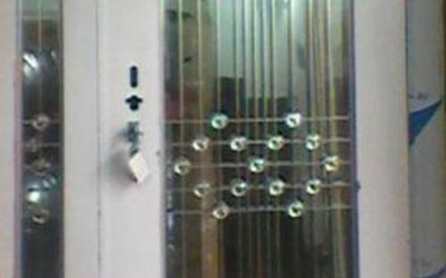 stainless steel door in door