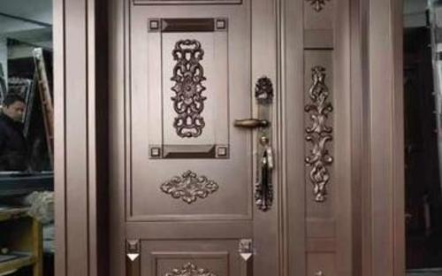 Copper security doors