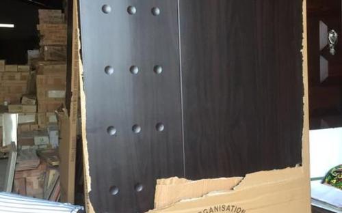 Laminated wooden door
