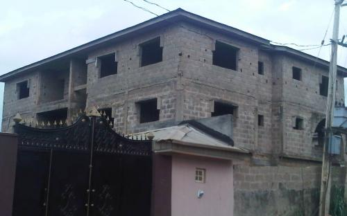A 2 STOREY BUILDING FOR SALE.